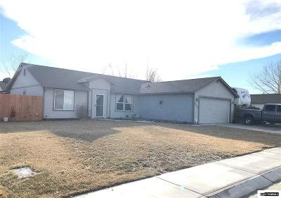 Fernley Single Family Home Active/Pending-Loan: 503 Darren Way
