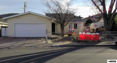 Carson City Single Family Home For Sale: 1405 Goldfield
