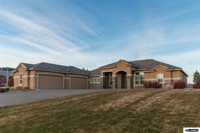 Washoe County Single Family Home Active/Pending-House: 5345 Biarritz Court