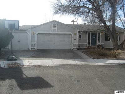 Sparks Single Family Home Active/Pending-Loan: 341 McGoldrick