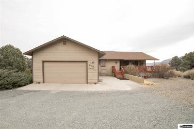 Gardnerville Single Family Home Active/Pending-Loan: 2020 Comstock Dr
