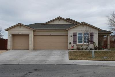 Fernley Single Family Home Active/Pending-Loan: 259 Colorado Court