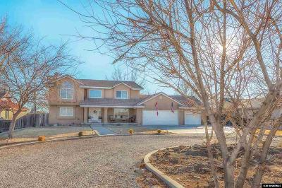 Fallon Single Family Home Active/Pending-Loan: 455 Carson River