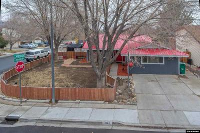 Sparks Single Family Home Active/Pending-Loan: 891 Glen Valley Drive