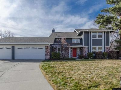 Reno, Sparks, Carson City, Gardnerville Single Family Home Price Reduced: 10090 Watercress Circle