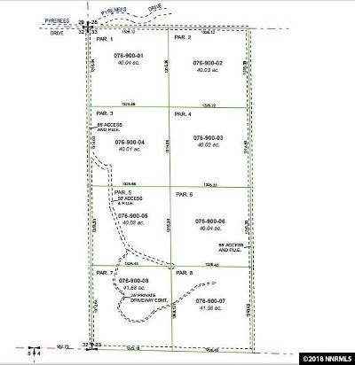 Sparks Residential Lots & Land Active/Pending-Call: 01 Pyrenees Rd.