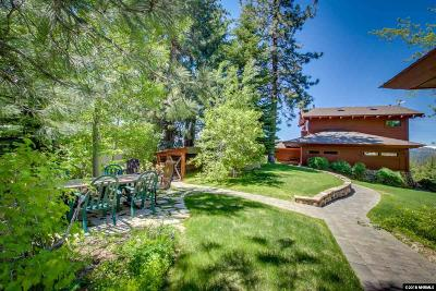 South Lake Tahoe CA Single Family Home For Sale: $1,599,000