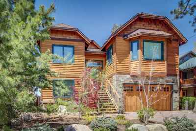 South Lake Tahoe CA Single Family Home For Sale: $4,799,000