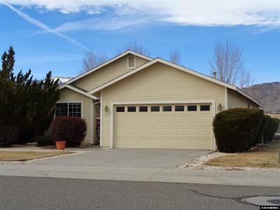 Carson City Single Family Home For Sale: 3536 Smoketree