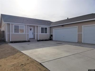 Fernley Single Family Home For Sale: 333 Emigrant Way