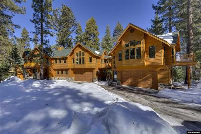 South Lake Tahoe CA Single Family Home For Sale: $2,599,000