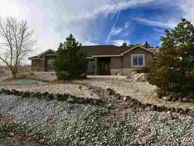 Fernley Single Family Home Active/Pending-Loan: 580 Buckskin Drive