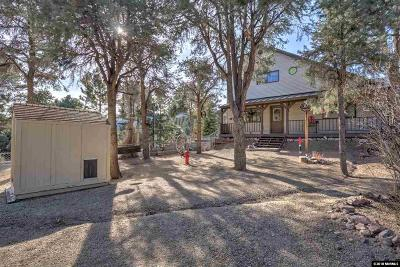 Gardnerville Single Family Home Active/Pending-Loan: 1169 Highway 395