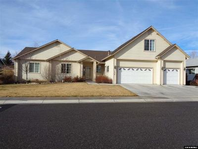 Gardnerville Single Family Home Active/Pending-Loan: 1454 Cardiff Drive