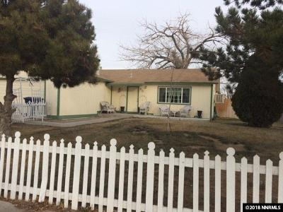 Fernley Single Family Home Active/Pending-Loan: 217 7th