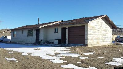 Reno, Sparks, Carson City, Gardnerville Single Family Home Back On Market: 5655 Peak Road