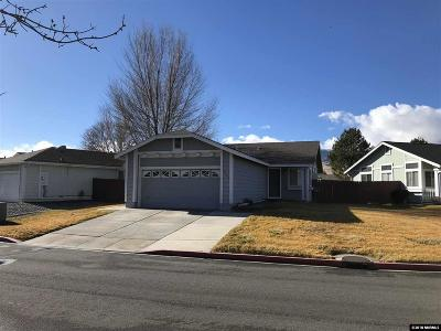 Washoe County Single Family Home Active/Pending-Loan: 7565 Water View Way