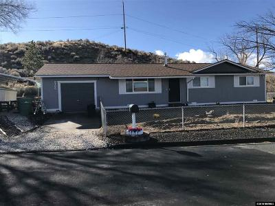 Reno Single Family Home Active/Pending-Loan: 8700 Paloma