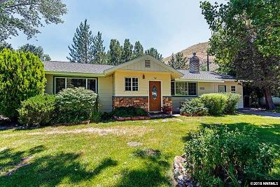 Washoe County Single Family Home Active/Pending-Loan: 22832 Carriage Dr.