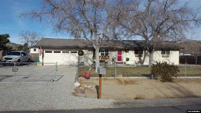 Reno Single Family Home Active/Pending-Loan: 11555 Overland Road