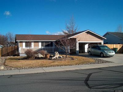 Gardnerville Single Family Home Active/Pending-Loan: 671 Joette Drive