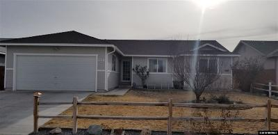 Fernley Single Family Home Active/Pending-Loan: 259 Emigrant
