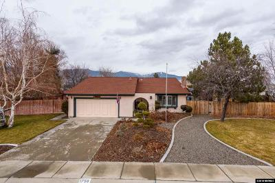 Minden Single Family Home Active/Pending-Loan: 1758 Westwood Drive