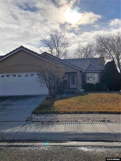 Fernley Single Family Home For Sale: 931 Julia