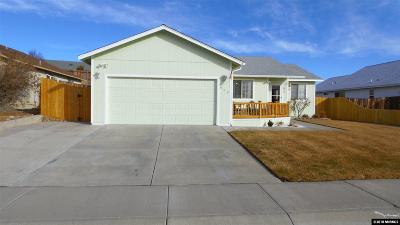 Carson City NV Single Family Home Active/Pending-Loan: $289,900