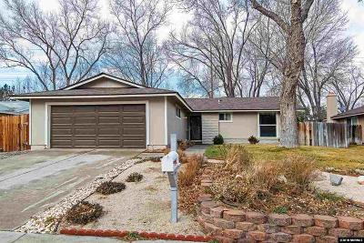 Reno Single Family Home Active/Pending-Loan: 2965 Bobby Drive