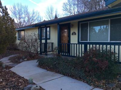 Carson City NV Single Family Home Active/Pending-Loan: $305,000