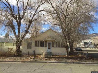 Winnemucca Single Family Home For Sale: 200 Railroad