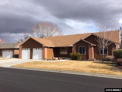 Minden Single Family Home Active/Pending-Call: 1507 Deseret Drive