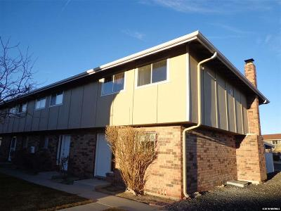 Carson City NV Condo/Townhouse For Sale: $139,900