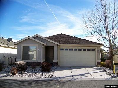 Carson City Single Family Home For Sale: 1239 Canvasback Dr