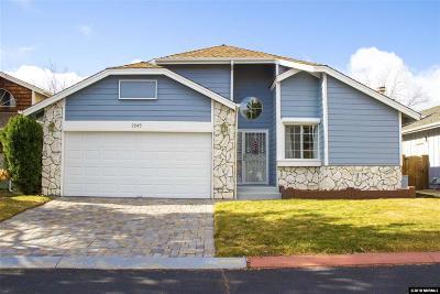 Reno Single Family Home Active/Pending-Loan: 2245 Silver Ridge Drive