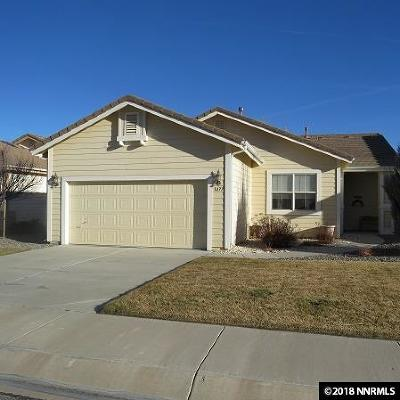Minden Single Family Home Active/Pending-House: 3477 Long Dr