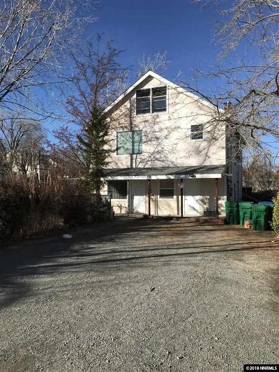Reno Multi Family Home For Sale: 453 Poplar Street