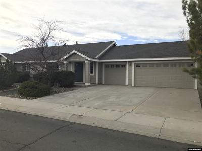 Gardnerville Single Family Home Active/Pending-Call: 1225 Springtime Dr