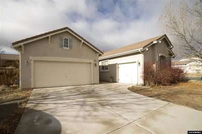 Sparks Single Family Home Active/Pending-Loan: 5565 Bridger Peak Dr