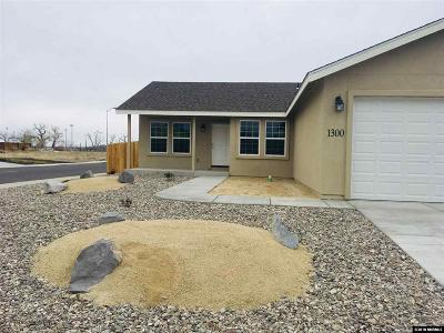 Fernley Single Family Home Price Raised: 1300 Shadow