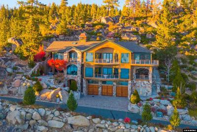 Glenbrook NV Single Family Home For Sale: $10,500,000