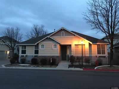 Reno Single Family Home New: 3849 Herons Landing
