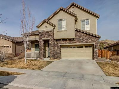 Reno Single Family Home New: 7755 Great Basin Road