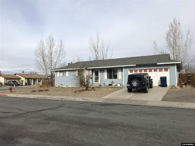 Fernley Single Family Home Active/Pending-Loan: 700 B St