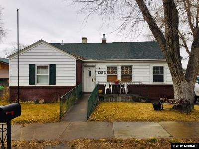 Winnemucca Single Family Home Active/Pending-Call: 1053 S Bridge St