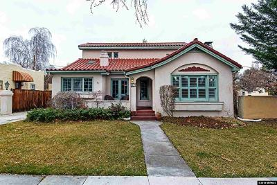 Reno Single Family Home For Sale: 865 La Rue