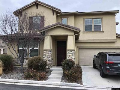 Sparks Single Family Home Active/Pending-Loan: 6975 Sacred Circle