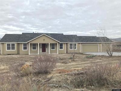 Reno Single Family Home New: 320 Appaloosa Circle