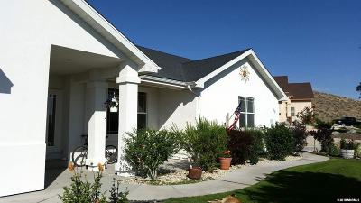 Fernley NV Single Family Home Active/Pending-House: $325,000
